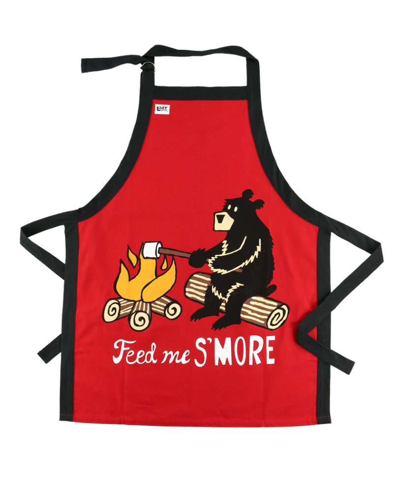 Feed Me S'More Bear Apron - Lazy One®